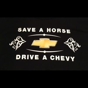 Gildan Shirts - Save A 🐴 Drive A Chevy T Shirt Large 🚙